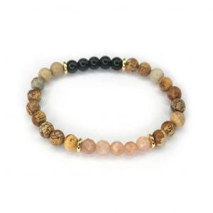 Wellness Stone Bracelet Sunstone
