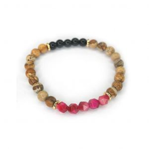 Wellness Stone Bracelet Red Tiger Eye