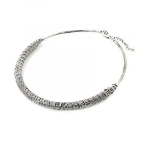 Chunky Wire Metal Necklace
